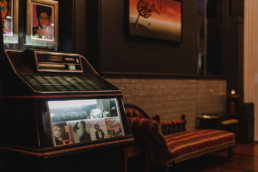 Jukebox in a bar